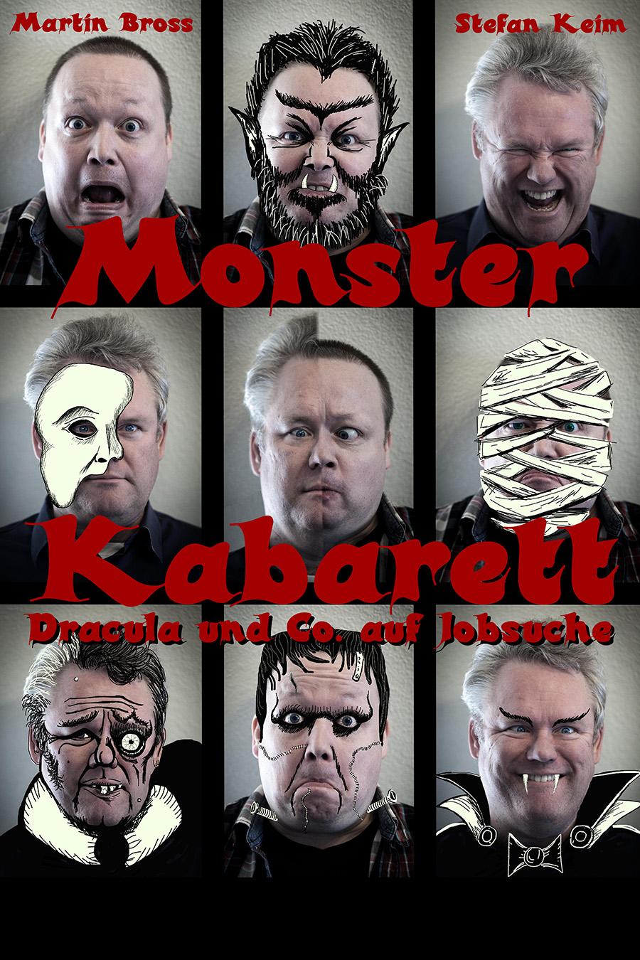 Monster Kabarett<br>Lachen bis das Blut gefriert – Dracula & Co. auf Jobsuche