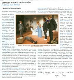 Elisabeth Einecke-Klövekorn Kultur – Magazin der Theatergemeinde Bonn, Juni 2017