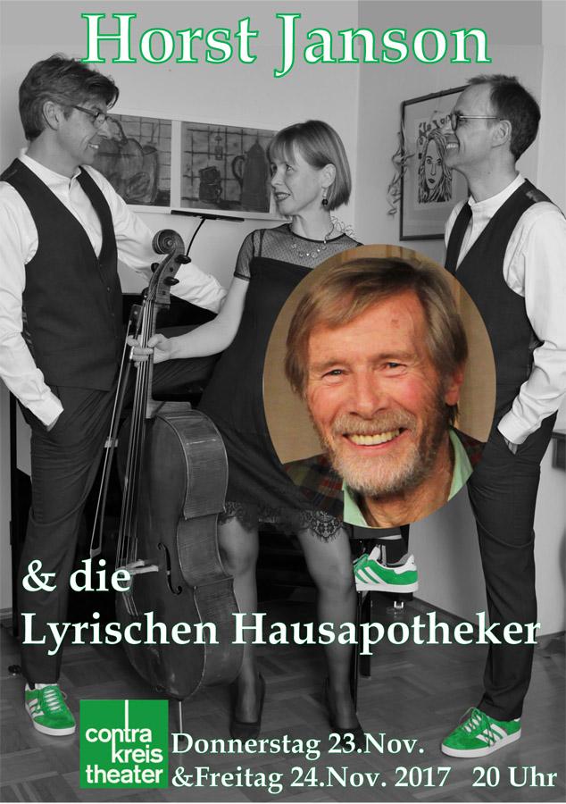Horst Janson & die Lyrischen Hausapotheker